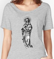 Dia de los Muertos Madonna and child Women's Relaxed Fit T-Shirt