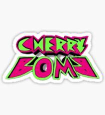 NCT- Cherry Bomb Logo  Sticker