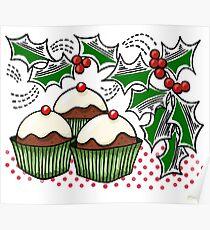 Holly Jolly Baking  Poster