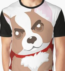 Grumpy Corgi Graphic T-Shirt