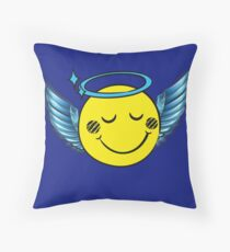 Angel Emoji Floor Pillow