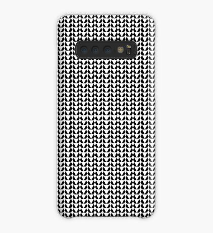 Black & White Pattern for a Skirt Case/Skin for Samsung Galaxy