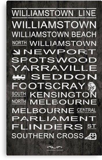 Williamstown Line by Loredana Crupi