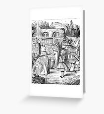 Alice in Wonderland The Red Queen Greeting Card