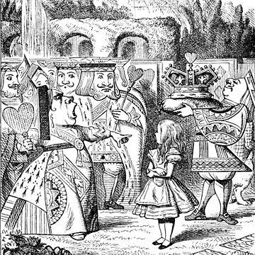Alice in Wonderland The Red Queen by longdistgramma