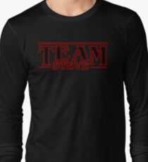 Stranger Things Team Steve Design Long Sleeve T-Shirt