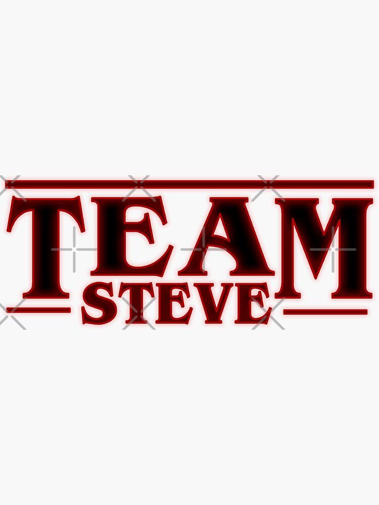 Stranger Things Team Steve Design de Weyheycallie