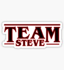 Stranger Things Team Steve Design Sticker