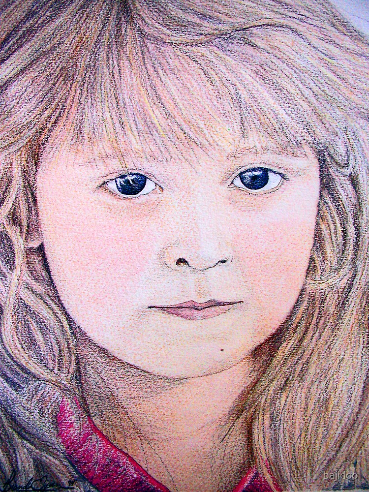 Nic, My Daughter at 4 yrs old by bajidoo