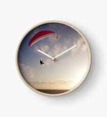 Sunset Paragliding  Clock