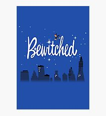 Bewitched Shirt Photographic Print