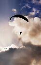 Sunset Paragliding 3 by Alex Preiss