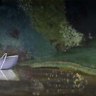 Landscape with the boat by Andypainting