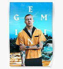 Gemini Macklemore  Poster