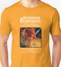 Dungeons and Dragons Immortals Rules (Remastered) Unisex T-Shirt