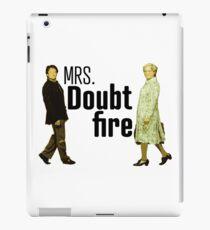 Mrs. Doubtfire - Robin Williams iPad-Hülle & Klebefolie