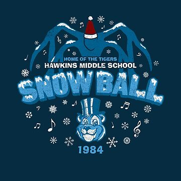 Hawkins '84 Snow Ball (Worn) by huckblade