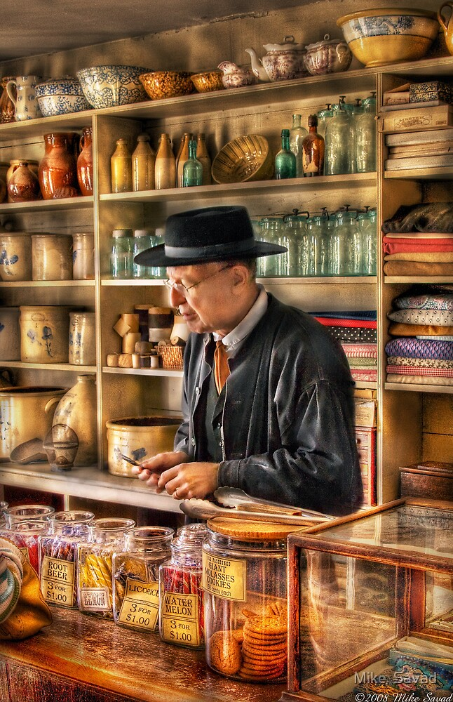 In the General Store by Michael Savad