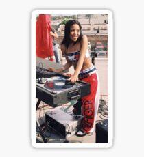 Aaliyah Sticker