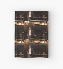 Tony DuPuis Theater Stage Pic Hardcover Journal