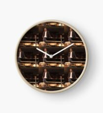 Tony DuPuis Theater Stage Pic Clock