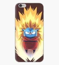 Vinilo o funda para iPhone Saiyan Songolang Golang Gopher