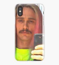 James Franco rainbow hair selfie iPhone Case/Skin