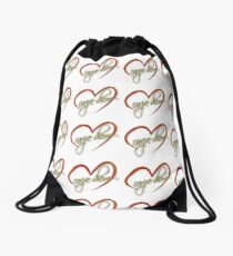 """Carpe Diem"" by Tony DuPuis Drawstring Bag"