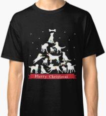 Camiseta clásica Labrador Retriever Árbol de Navidad Regalo para Labrador Retriever Árbol de Navidad Labrador Retriever Camiseta Sudadera con capucha Iphone Samsung Phone Case Taza de café Funda de Tablet