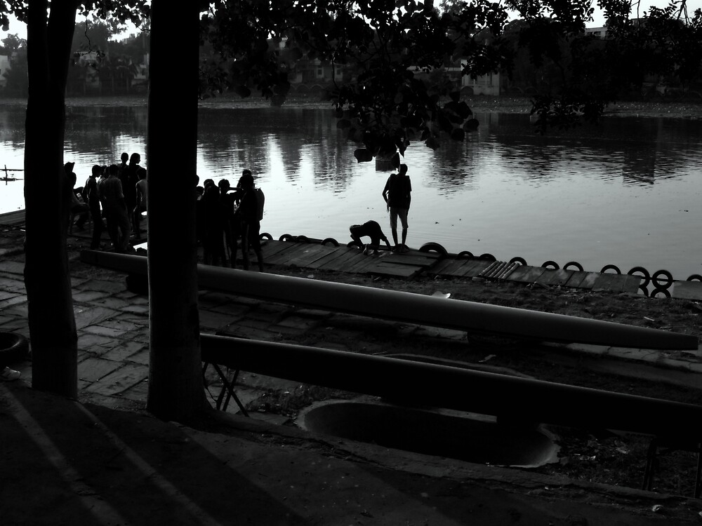 The boating competition by nisheedhi