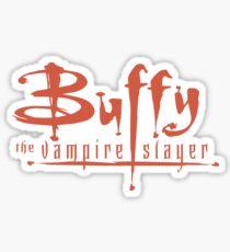 Buffy The Vampire Slayer Logo Sticker