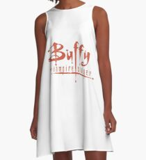 Buffy The Vampire Slayer Logo A-Line Dress
