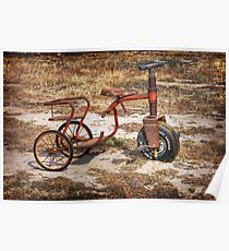 Old Tricycle Poster