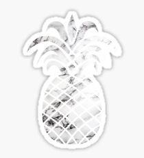 Marble Pinapple White Sticker