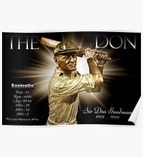 Sir Don Bradman Poster