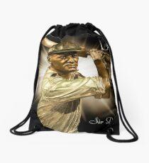 Sir Don Bradman Drawstring Bag