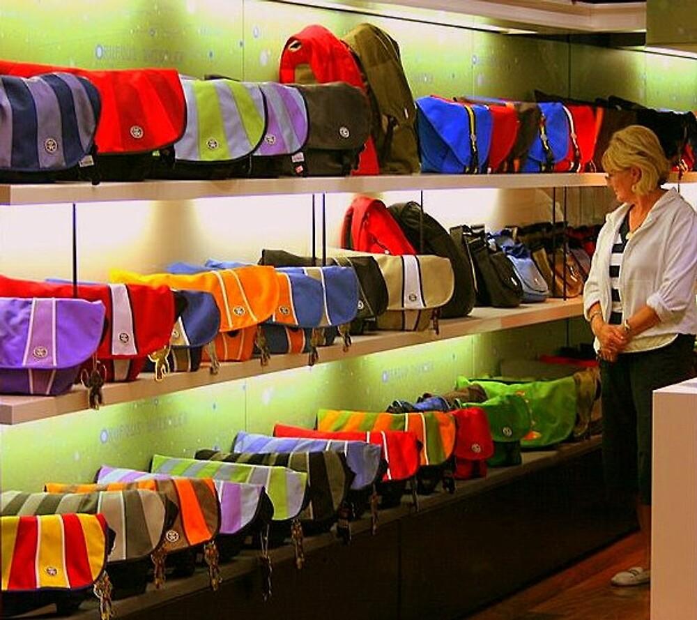 Any bag, many colours by Tugela