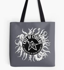 I sacrificed to raise Cthulhu  logo Tote Bag 10f278da8a394