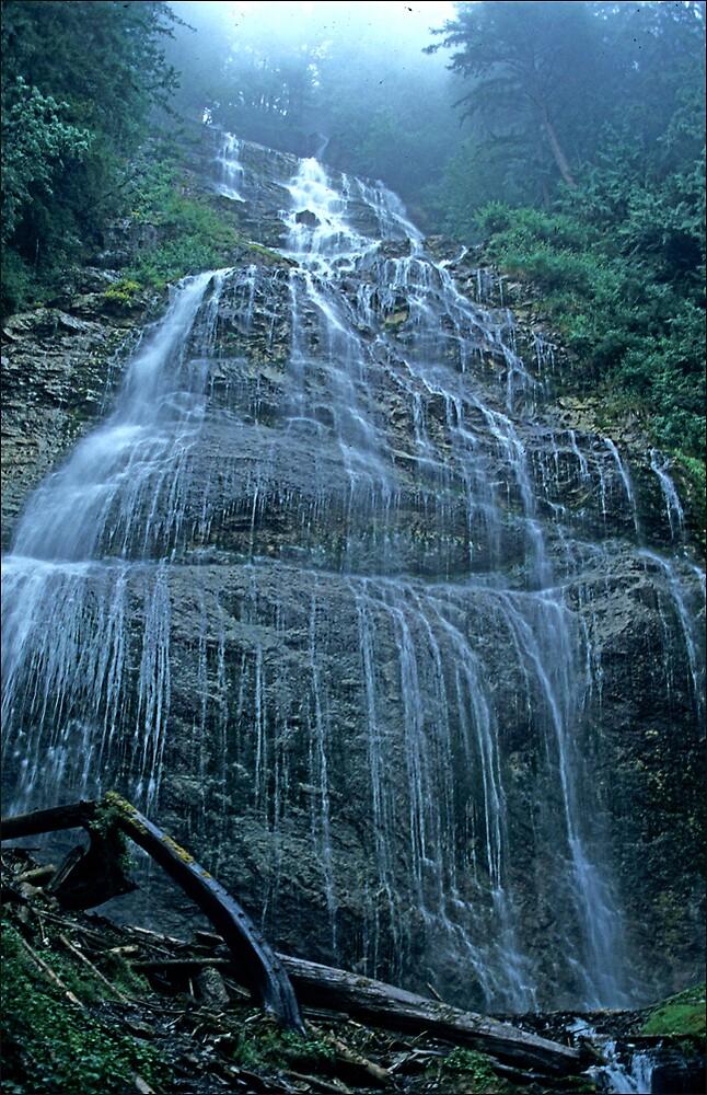 Bridal veil Falls by satwant