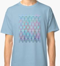Mermaid's Braids - a colored pencil pattern Classic T-Shirt
