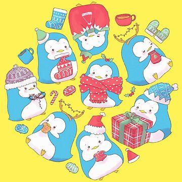 Weihnachtspinguin von susanmariel