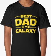 Best Dad in The Galaxy Long T-Shirt