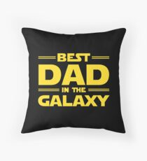Best Dad in The Galaxy Floor Pillow
