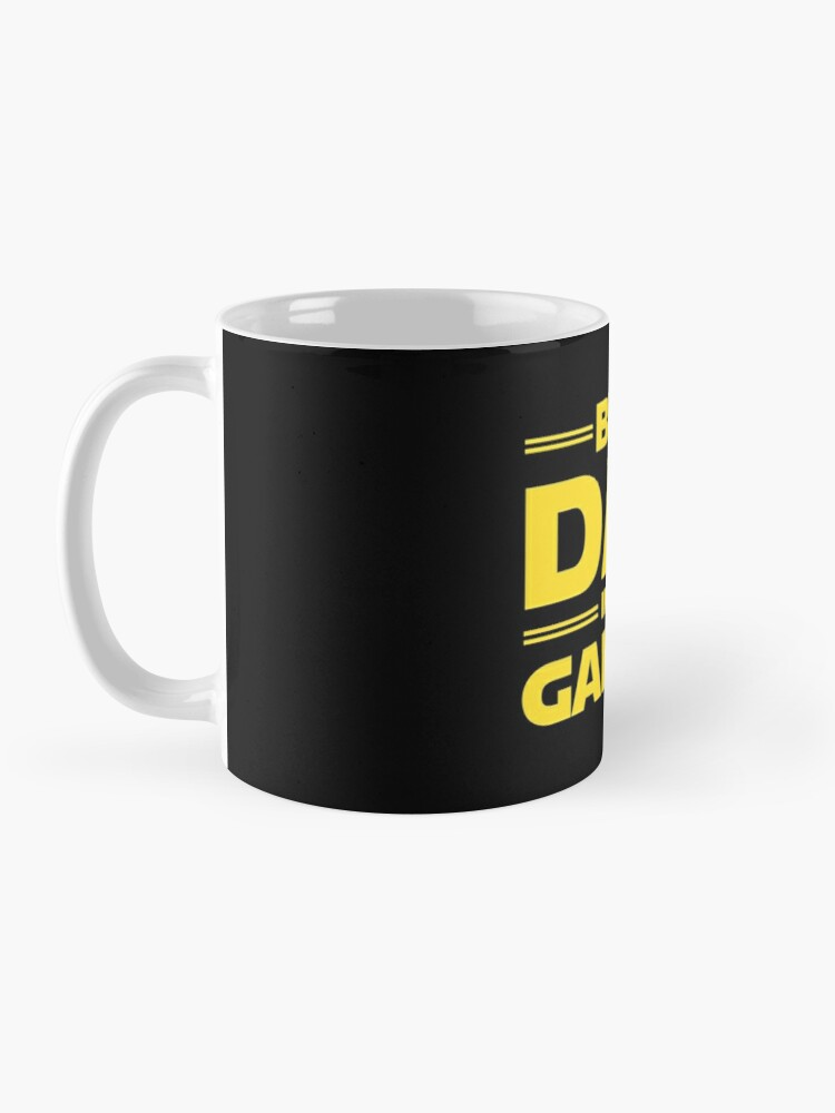 Alternate view of Best Dad in The Galaxy Mug