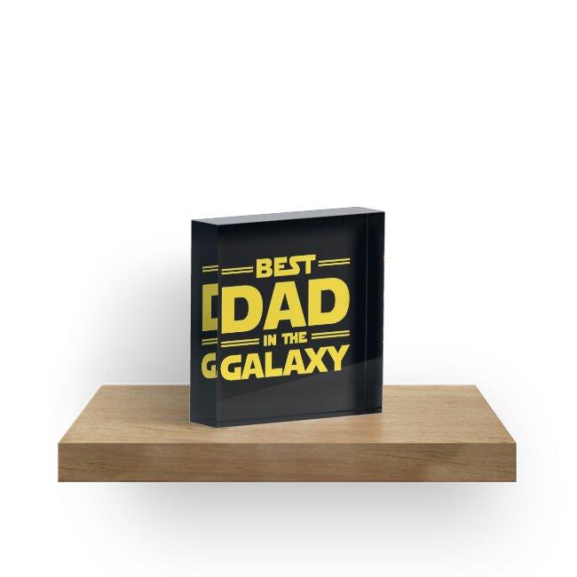 «El mejor papá en la galaxia» de redscarf