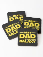 Best Dad in The Galaxy Coasters