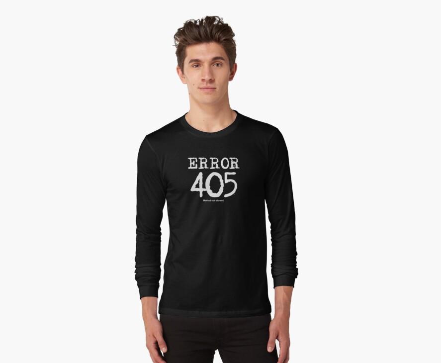 Error 405. Method not allowed. by FrontierMM