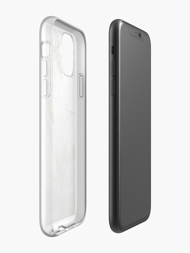 Coque iPhone « Ciel gris », par paneele