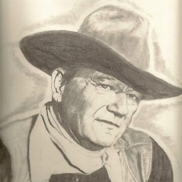John Wayne by artmgm