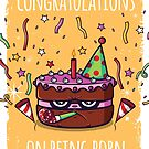 Congratulations on being born by Scott Weston